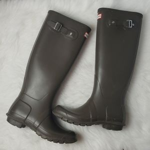 Hunter Boots Original Tall Brown US 8